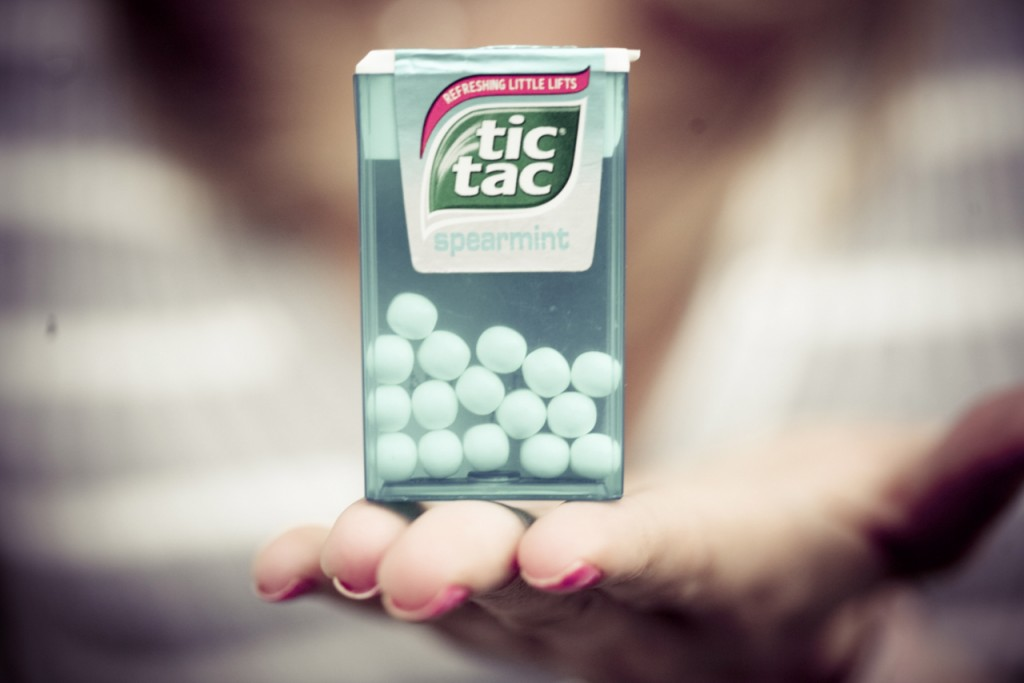 Yummy Tic Tacs - Day 11/30
