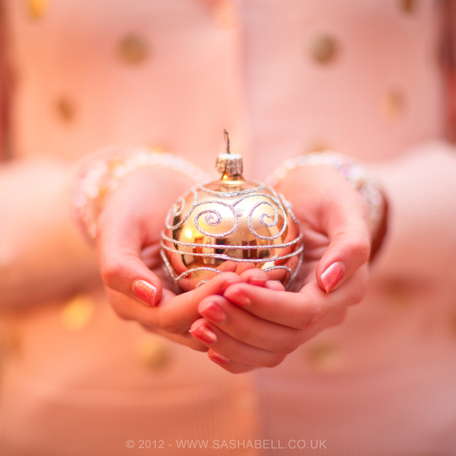 Gold Christmas Decoration – Day 87/365
