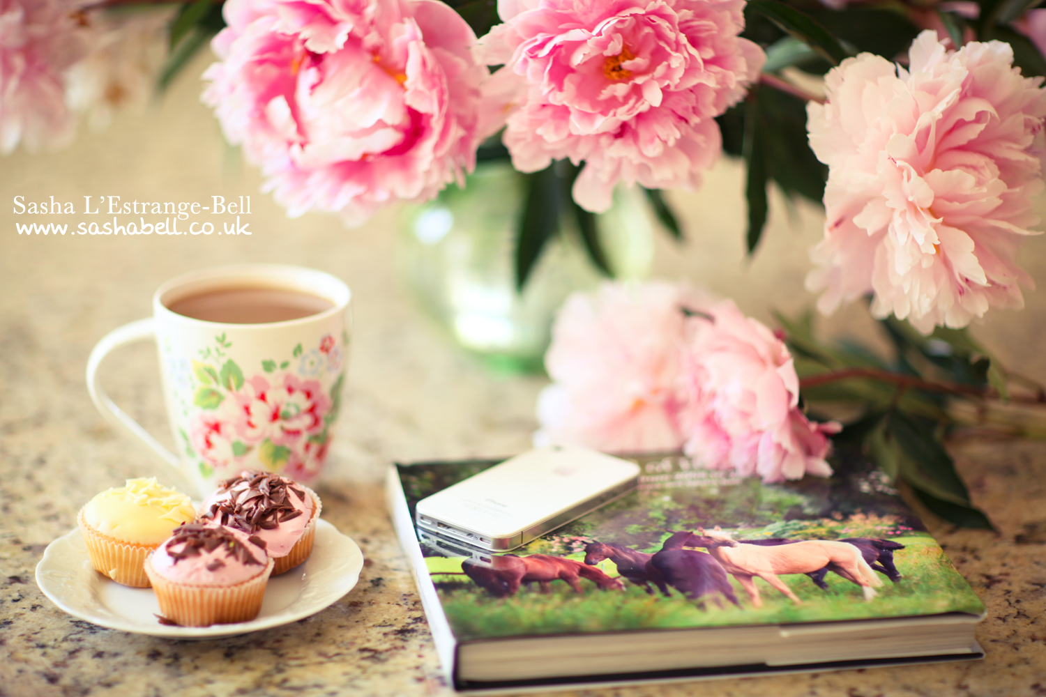 Cupcakes, Coffee and Peonies – Day 288/365