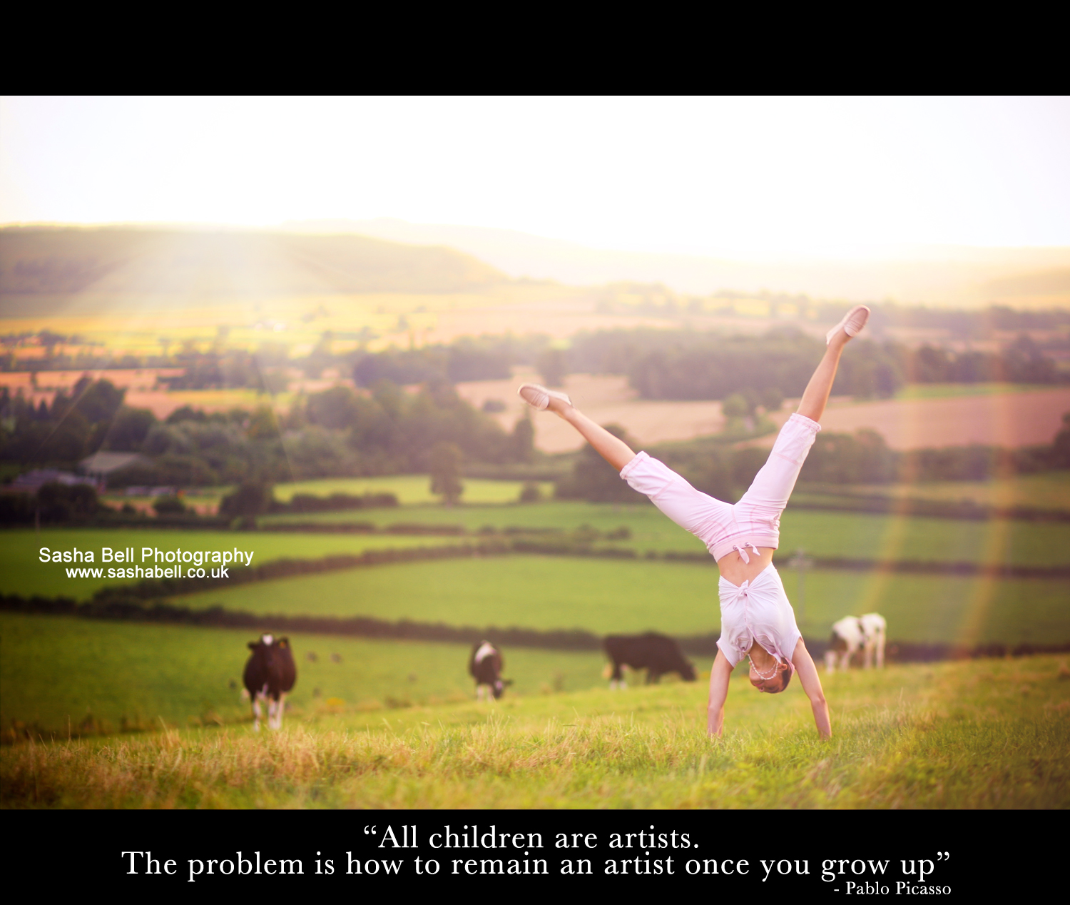 """All children are artists. the problem is how to remain an artist once you grow up"""