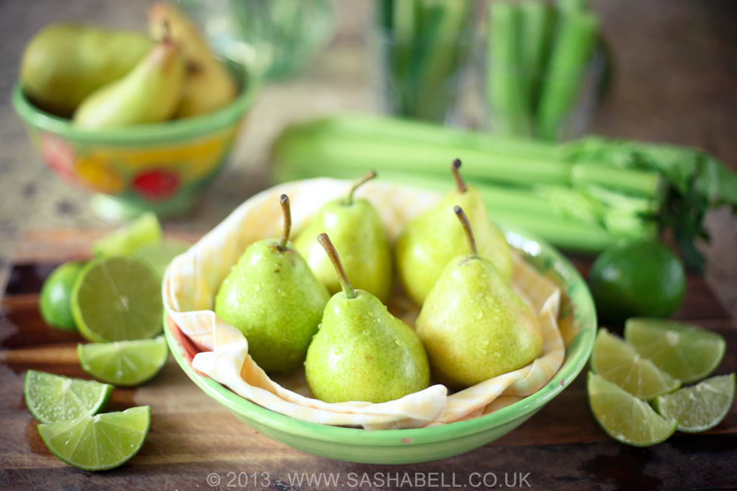 Green Pears and Limes