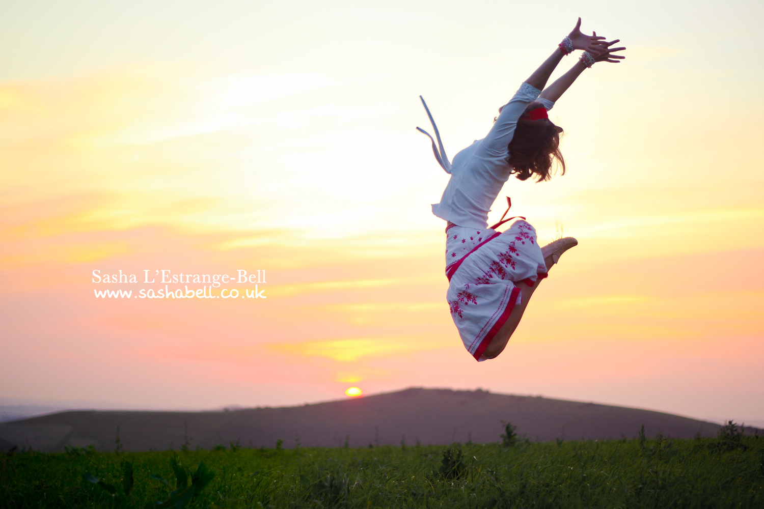 Jumping at Sunset – Day 284/365
