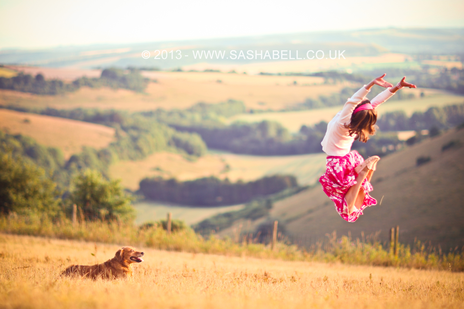 Jumping In the Countryside – Day 305/365
