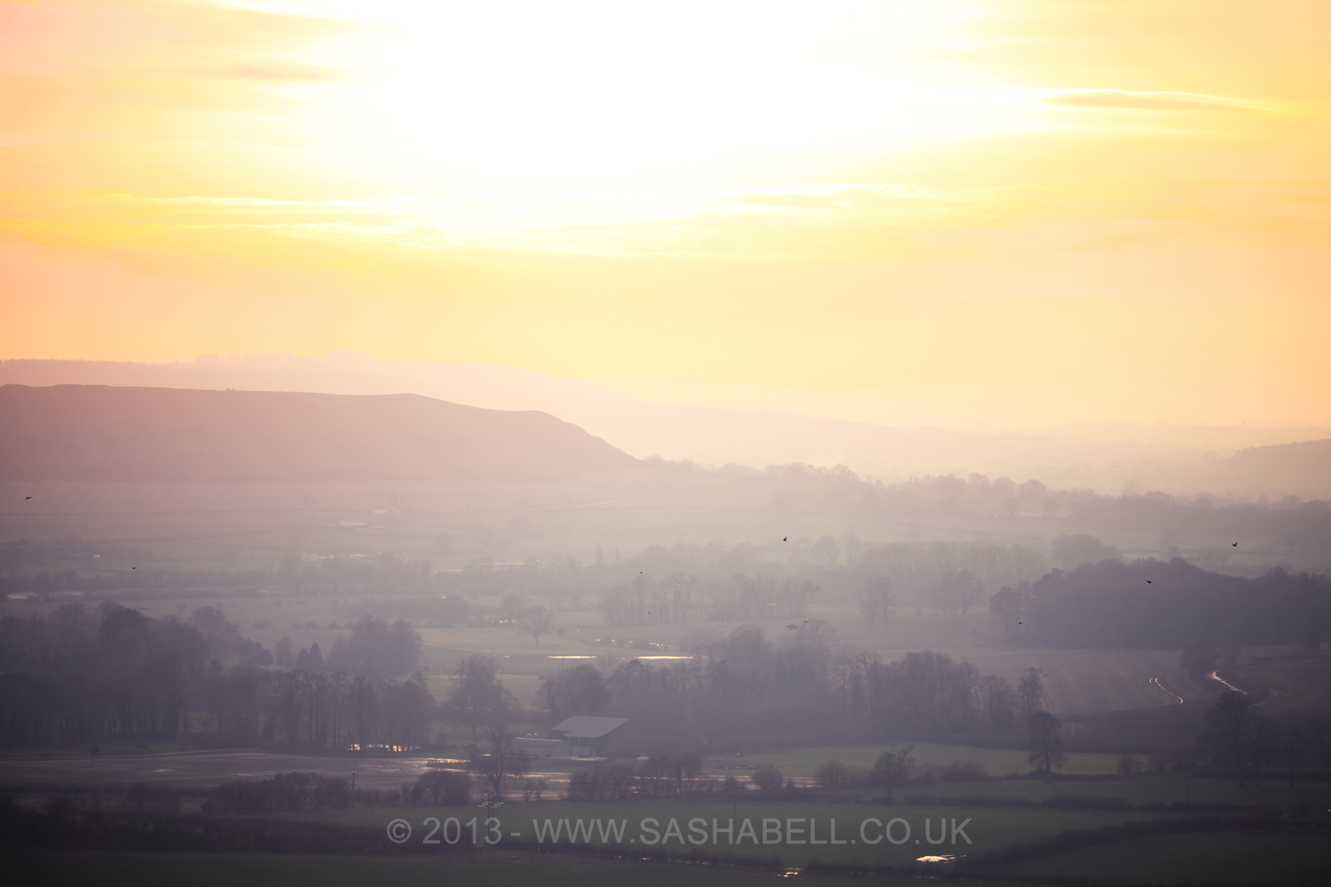 Hazy Sunset – Day 115/365