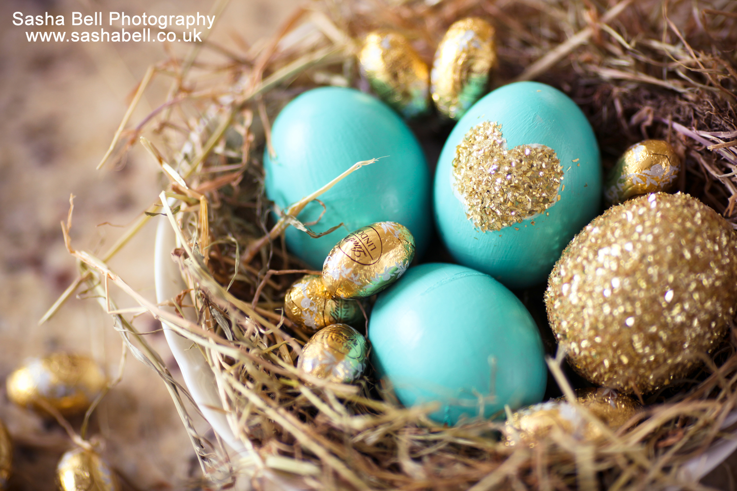 Blue and Gold Easter Eggs – Day 184/365