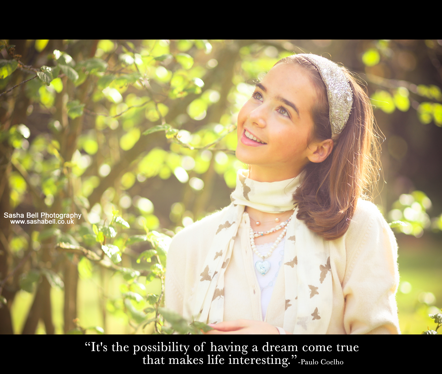 """It's the possibility of having a dream come true that makes life interesting."""