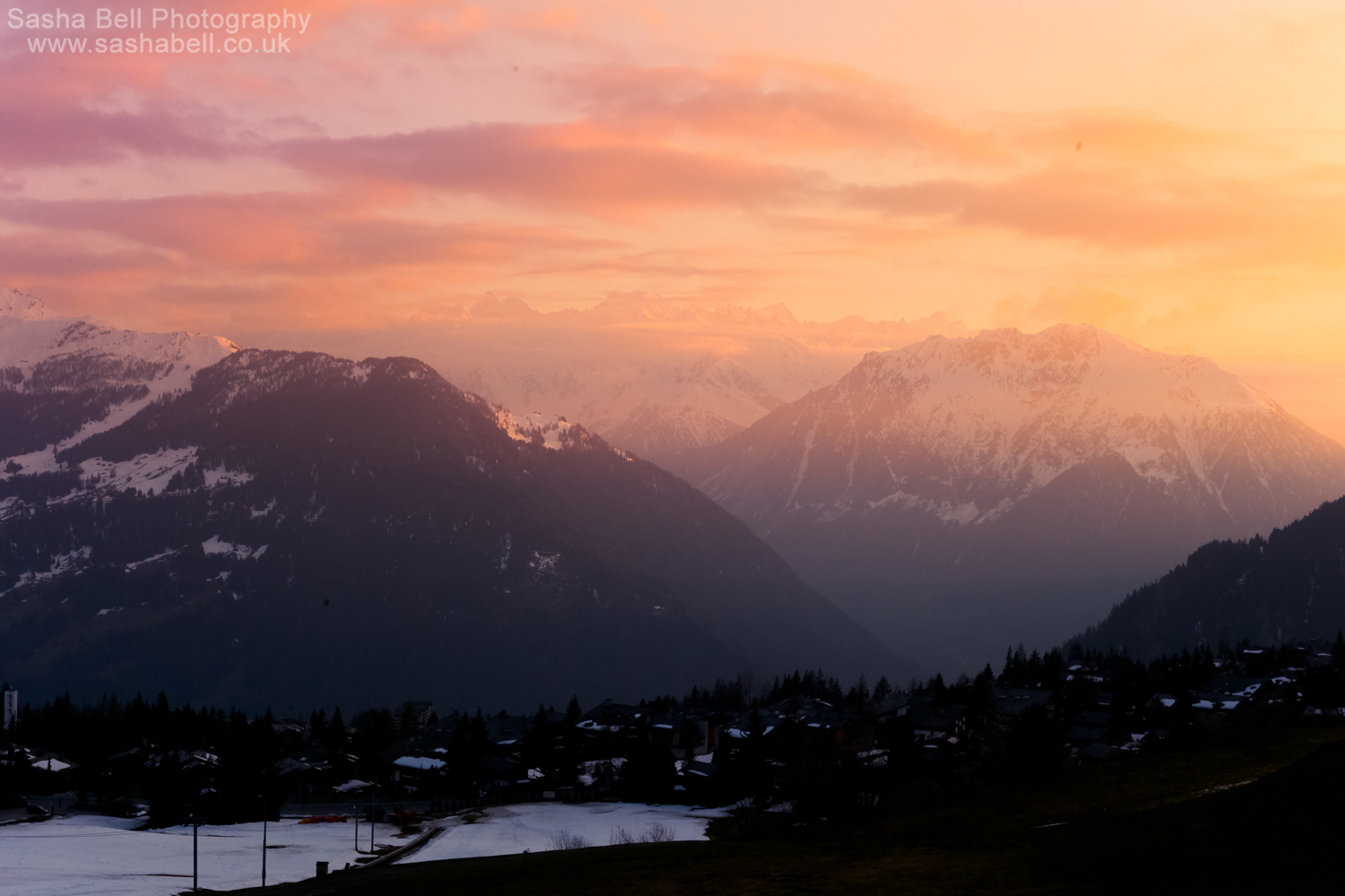 Sunset Over the Mountains – Day 212/365