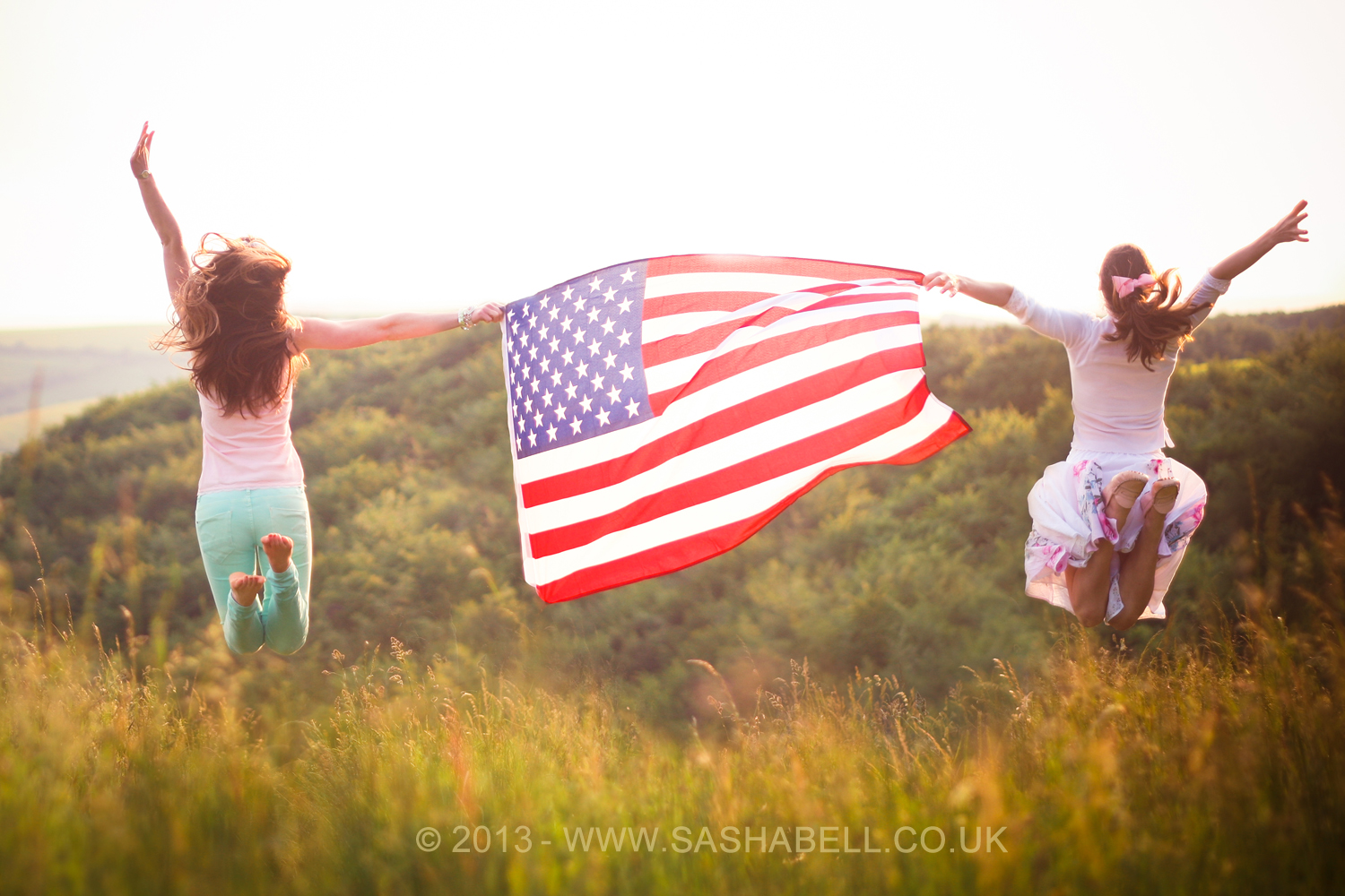 Jumping with the US Flag – Day 275/365
