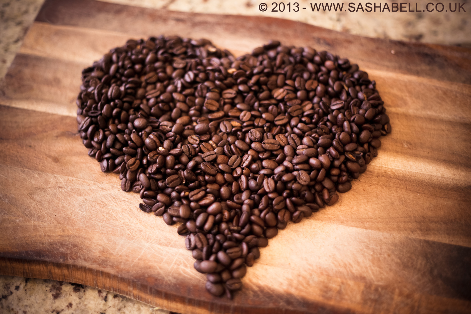 Coffee Beans In Heart Shape – Day 141/365