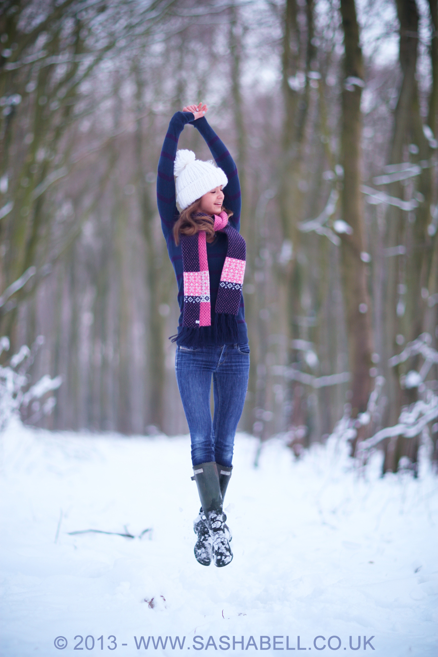 Snow Jumping – Day 119/365