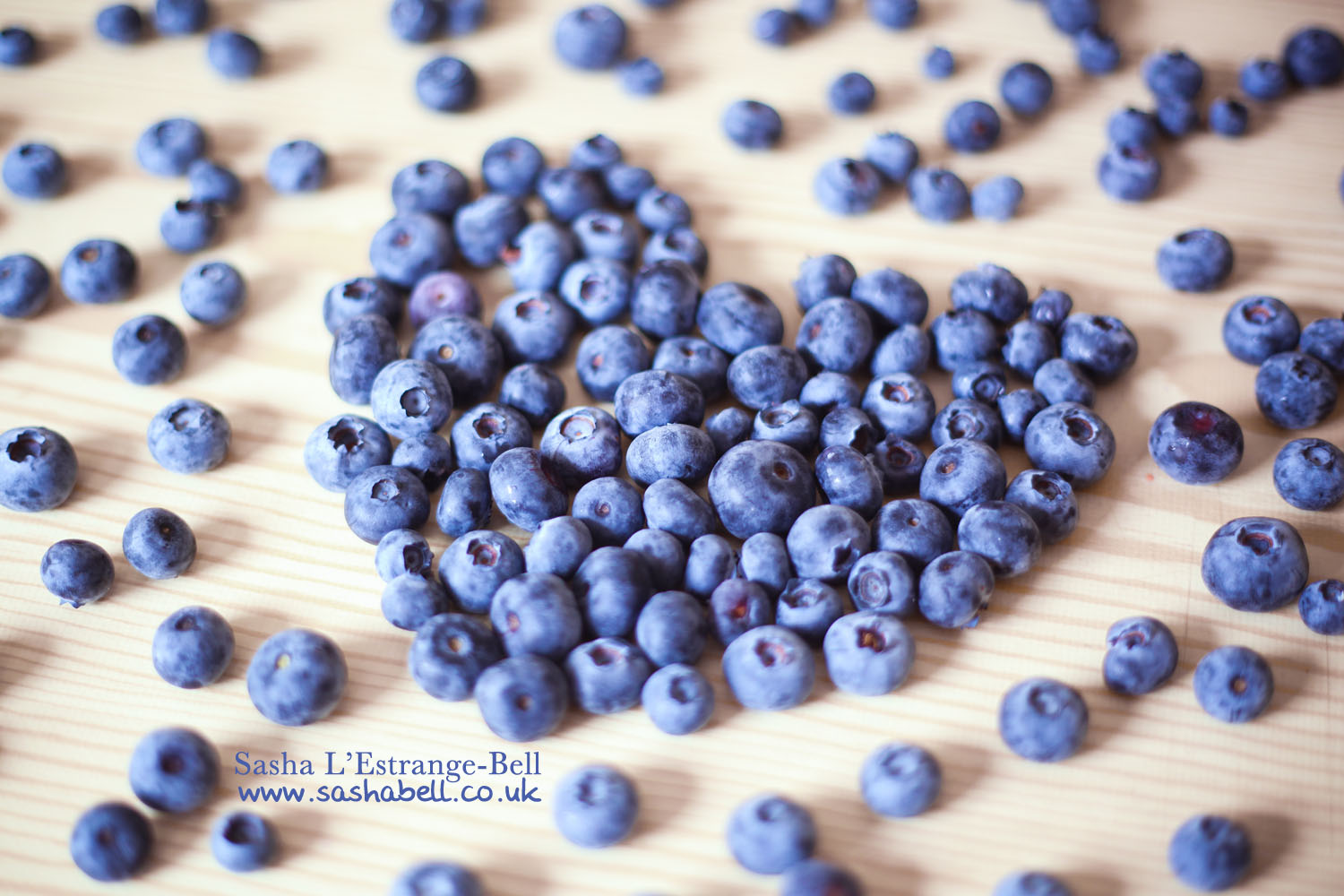 Blueberries in Heart Shape – 308/365