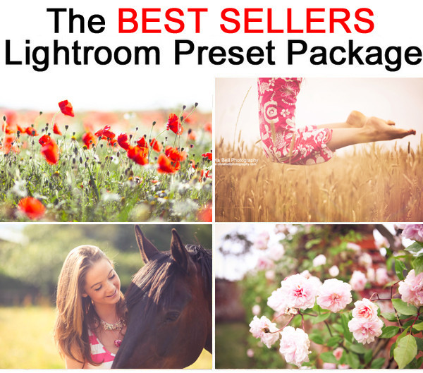 The Best Seller Lightroom Preset Pack