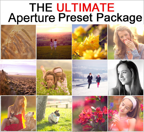 The ULTIMATE Aperture Preset Pack