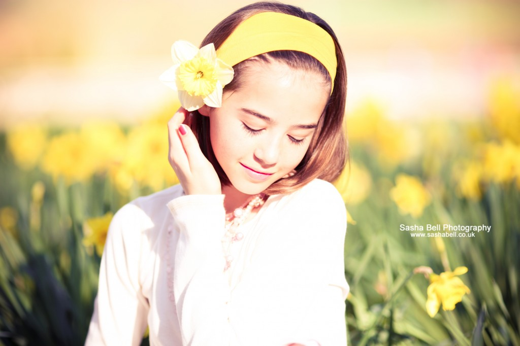 Daffodil Girl Photograph