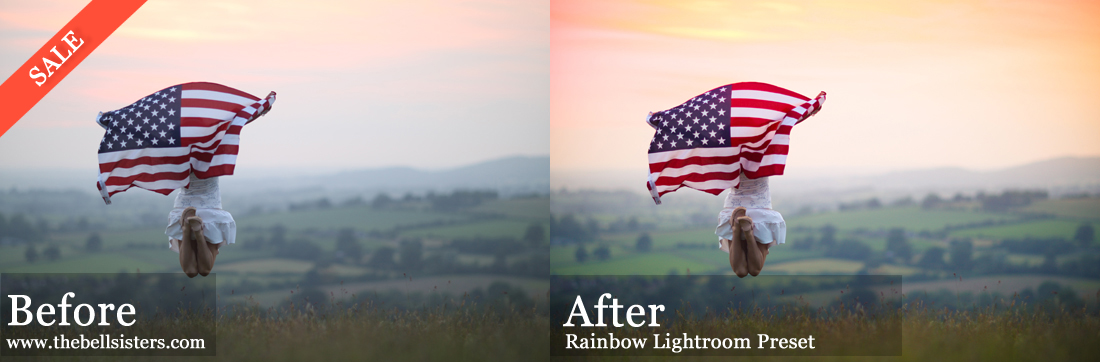Rainbow Lightroom Preset – SALE