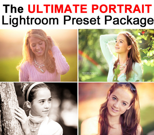 The ULTIMATE Portrait Lightroom Preset Pack